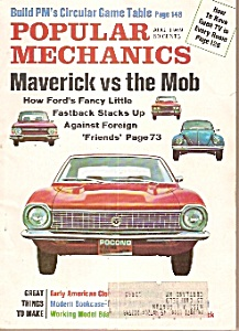 Popular Mechanics -  August 1969 (Image1)