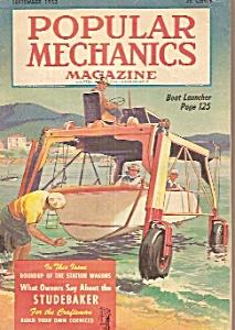 Popular Mechanics September 1953 Popular Mechanics 1950 S At Joe S Paper Shack