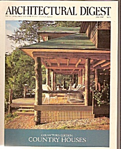 Architectural digest -  June 1987 (Image1)