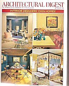 Architectural digest -  September 2001 (Image1)