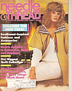 Needle & Thread magazine- Jan /Feb 1987 (Image1)