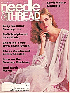 Needle & thread magazine-  May/June 1987 (Image1)