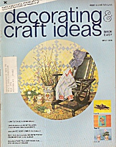 decorating craft ideas made easy- May 1974 (Image1)