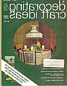 Decorating & Craft Ideas - April 1974