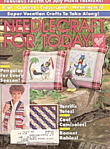 Needlecraft For Today - July/august 1986
