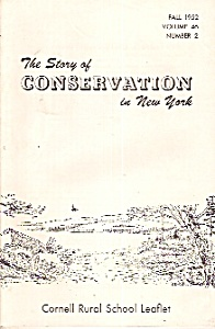 The Story Of Conservation In New York =1952
