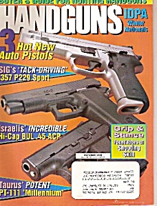 Handguns magazine  -   October 1998 (Image1)