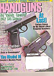 Handguns Magazine- March 1999