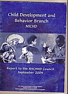 Child Development and Behavior branch NICHD - 2004 (Image1)