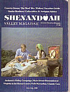 Shenandoah Valley Magazine - June/july 1980