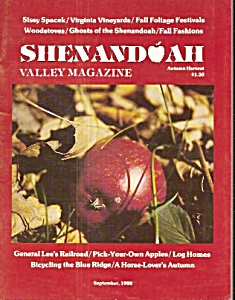 Shenandoah Valley Magazine - September 1980