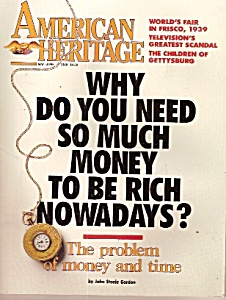 American Heritage magazine -  May - June 1989 (Image1)