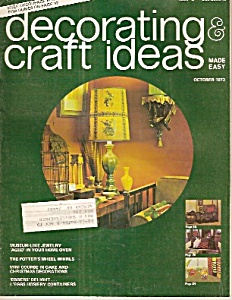 Decorating craft ideas -  September 1973 (Image1)