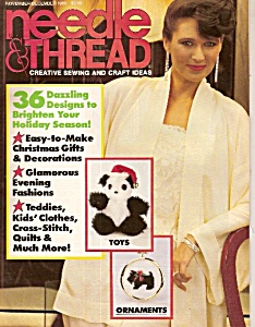 Needle & Thread Ideas Nove.. Dec. 1985