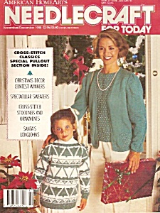 Needlecraft For Today November/december 1988