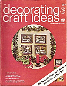 Decorating craft ideas magazine - Dec/January 1972 -197 (Image1)