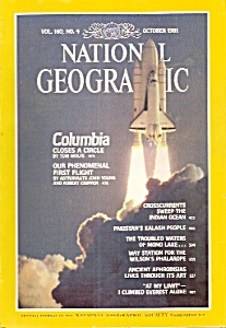 National Geographic magazine -  October 1981 (Image1)