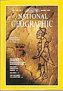 National Geographic Magazine- August 1981