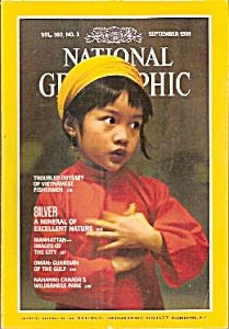 National Geographic magazine - September 1981 (Image1)