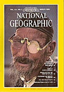 National Geographic magazine -  March 1980 (Image1)