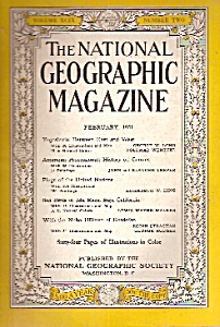National Geographic magazine - February 1951 (Image1)