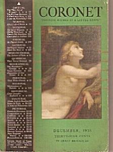 Coronet magazine -  December 1938 (Image1)