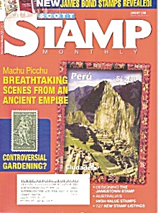 Scott Monthly stamp magazine- January 2008 (Image1)