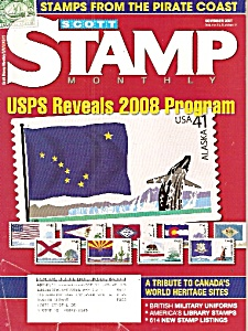 Scott monthly stamp magazine -  November 2007 (Image1)