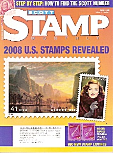 Scott monthly stamp magazine - March 2008 (Image1)