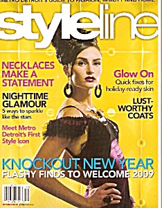 Styline magazine-  December 2008 (Image1)