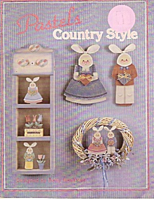 Pastels Country Style -copyright Dec. 1987