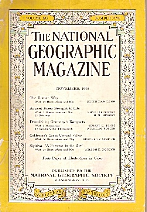 The National Geographic magaziane - November 1946 (Image1)