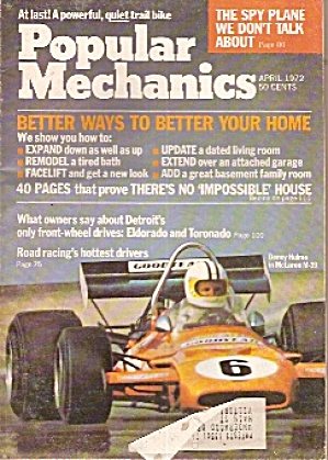 Popular Mechanics - April 1972 (Image1)