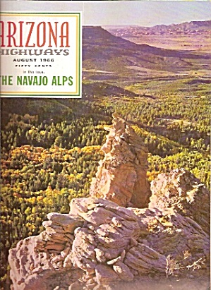 Arizona Highways - August 1966
