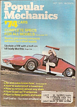 Popular Mechanics - Oct. 1973