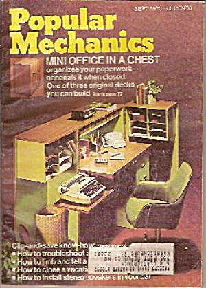 Popular Mechanics - Sept. 1973