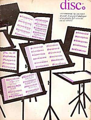Disc Magqzine -   1969 (Image1)