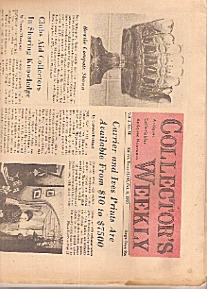 Collector's weekly newspaper -  October 6, 1970 (Image1)