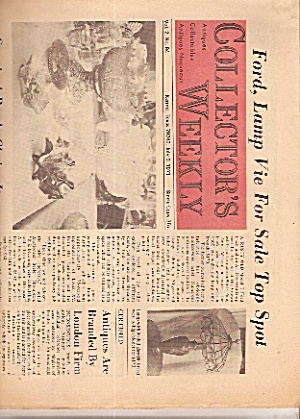 Collector's Weekly Newspaper - July 6, 1971