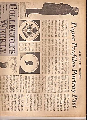 Collector's Weekly Newspaper - Feb. 20, 1973