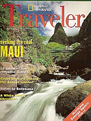 National Geographic Traveler -November/December 1995 (Image1)