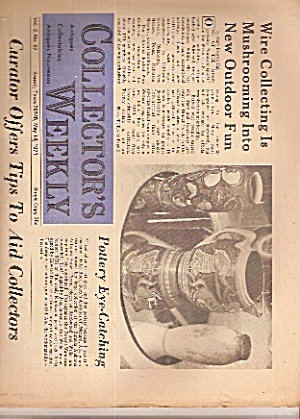 Collector's Weekly Newspaper - May 18, 1971