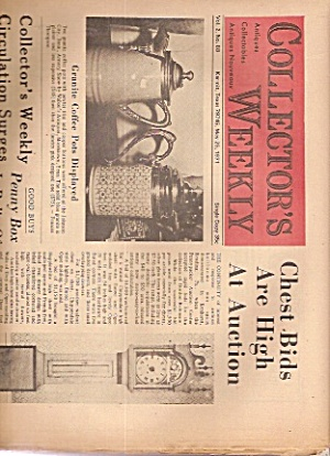 Collector's Weekly Newspaper - May 25, 1971