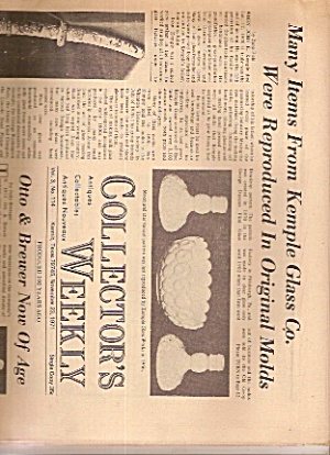 Collector's Weekly Newspaper - November 23, 1971