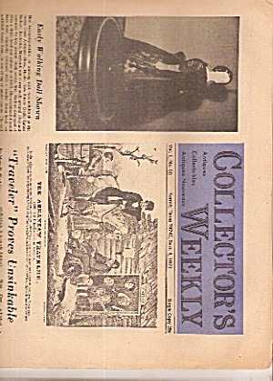 Collector's weekly newspaper - Sept. 1, 1970 (Image1)