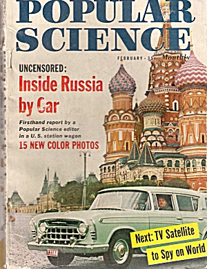Popular Science - February 1958