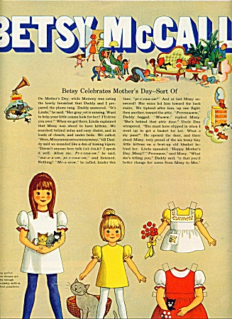 Betsy Mccall Paper Doll