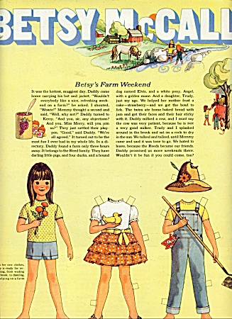 BETSY McCALL PAPER DOLL (Image1)