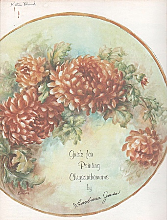 Chrysanthemums - Barbara Jones - Oop