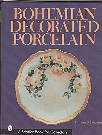 VINTAGE~BOHEMIAN DECORATED PORCELAIN (Image1)